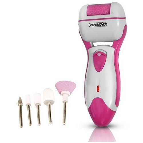 Pilnik elektryczny do stóp MESKO MS 2161P + zestaw do manicure z kategorii Pilniki i polerki do paznokci