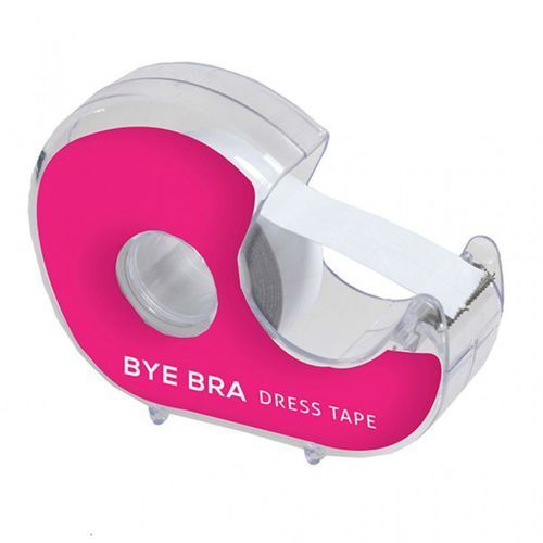 Bye bra Taśma do stylizacji ubrań z dyspenserem - dress tape with dispenser 3 metry