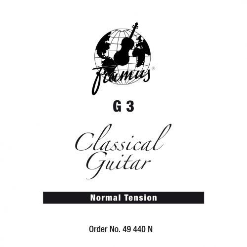 Framus classic - struna pojedyncza do gitary klasycznej, g 3,.040, plain, normal tension