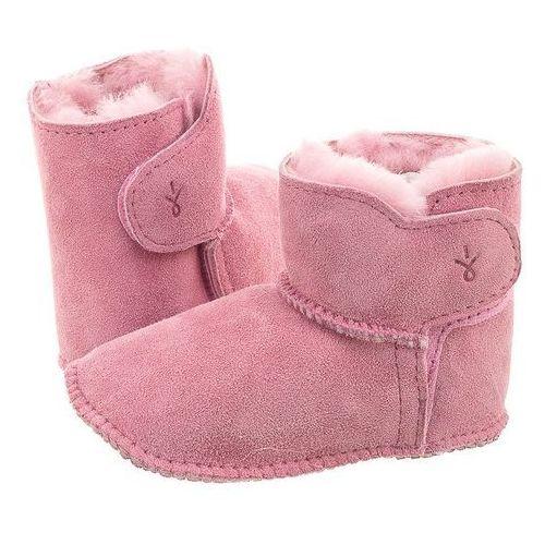 Trzewiki EMU Australia Baby Bootie 2017 Pink B10310 (EM204-b)