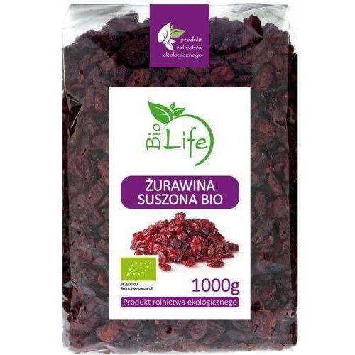101biolife Żurawina suszona 1kg - biolife (5901785342345)