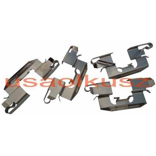 Zestaw montażowy tylnych klocków hamulcowych lincoln mkx -2010 marki Delphi