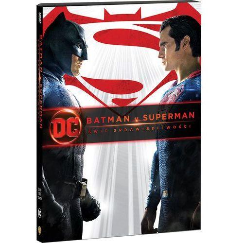 BATMAN V SUPERMAN: ŚWIT SPRAWIEDLIWOŚCI (DVD) KOLEKCJA DC (Płyta DVD) (7321930342095)