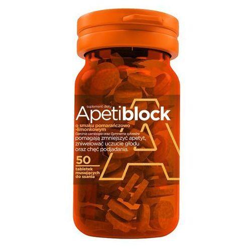 APETIBLOCK smak pomarańczowo limonkowy 50 tabletek musujących, produkt z kategorii- Tabletki na odchudzanie