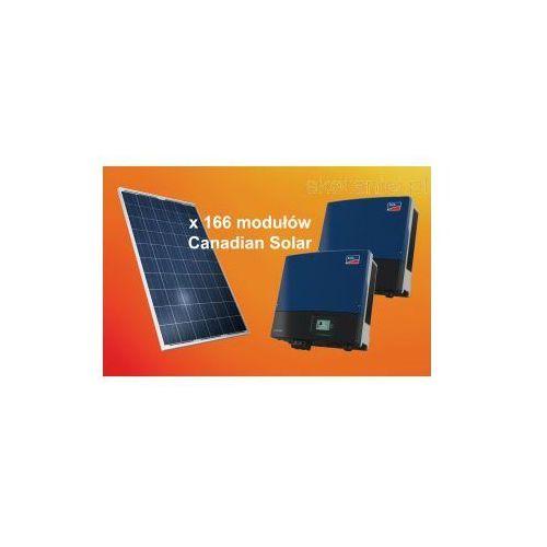 Zestaw ogniw 39.84kW Canadian Solar CS6P-240P + dwa falowniki SMA STP Sunny TriPower, kup u jednego z partnerów