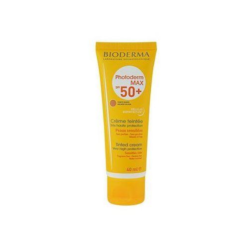 photoderm max tonujący krem do opalania spf 50+ odcień golden colour (tinted cream) 40 ml marki Bioderma
