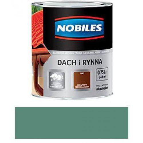 NOBILES DACH I RYNNA-Zielony patynowy RAL 6000 -0,75L z kategorii rynny