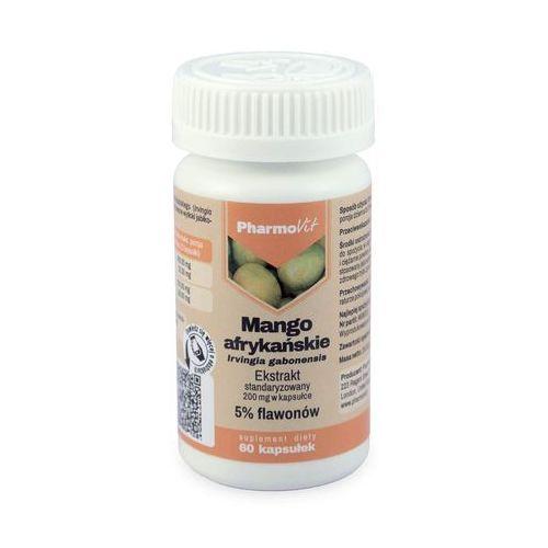 Pharmovit Mango Afrykańskie (5% flawonoidów) - 60 kaps.