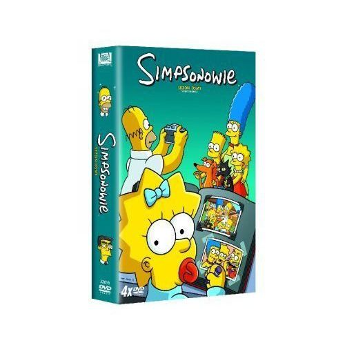 Imperial cinepix Simpsonowie - sezon 8 (dvd) - . darmowa dostawa do kiosku ruchu od 24,99zł (5903570146527)