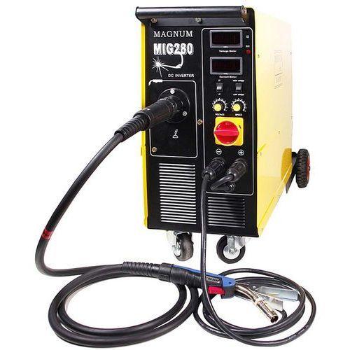 MAGNUM MIG 280 IGBT- MMA z możliwościa spawania elektrodą *** % Przedpłata na konto dodatkowy rabat % *** - produkt z kategorii- Migomaty i półautomaty spawalnicze