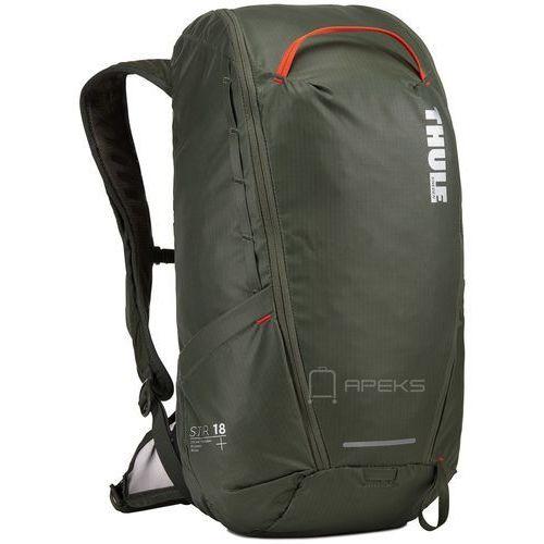 Thule stir 18l plecak turystyczny / wycieczkowy / ciemnozielony - dark forest
