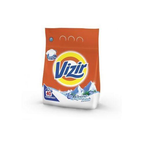 Vizir Alpine Fresh Proszek do prania białego i jasnego 2.8kg (40 prań) (proszek do prania ubrań)