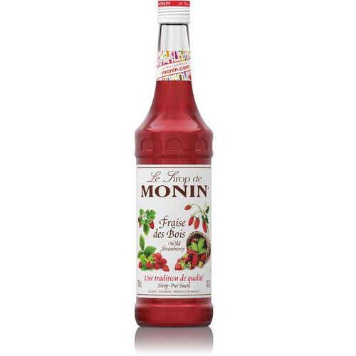 Syrop Monin Poziomkowy- Wild Strawberry 700ml, 0930