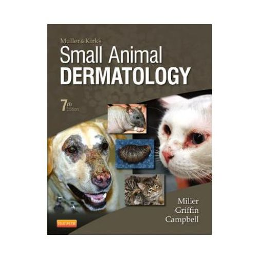 Muller and Kirk's Small Animal Dermatology (948 str.)