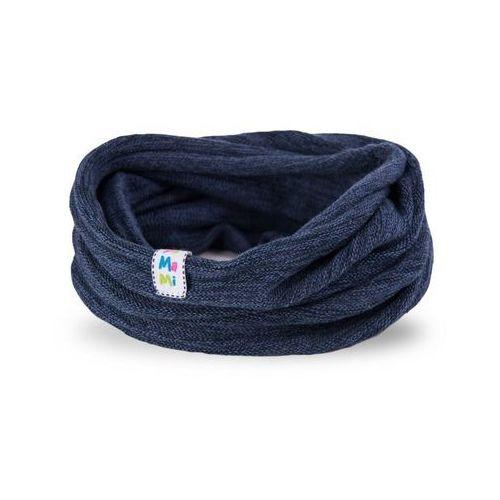 Wiosenny komin dziewczęcy PaMaMi - Ciemnoniebieski - Ciemnoniebieski, kolor niebieski