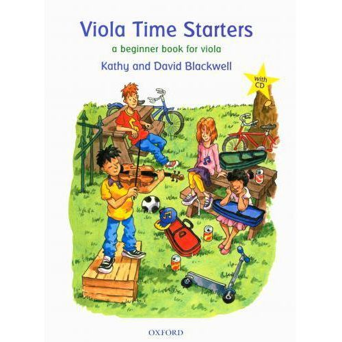 PWM Blackwell Kathy, David - Viola time starters. A beginner book for viola (utwory na altówkę + CD)