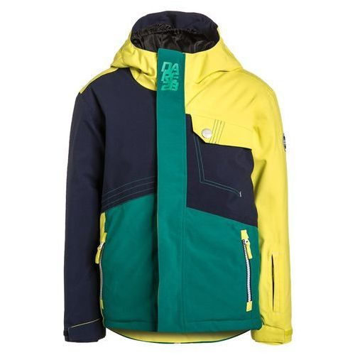 Dare 2B ROUSE UP Kurtka narciarska peacoat/neon spring/alpine forest, towar z kategorii: Kurtki dla dzieci