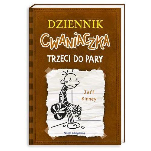 DZIENNIK CWANIACZKA TRZECI DO PARY, oprawa broszurowa