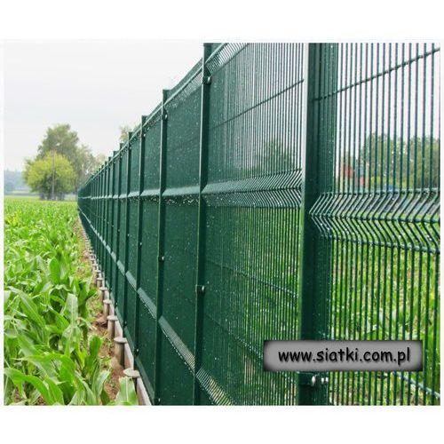 Panel ogrodzeniowy ocynkowany + zielony 4W-1400 wys. ze sklepu Siatki Janowski