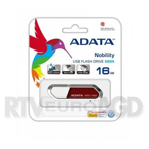 A-Data S805 16GB USB 2.0 (grafitowy) (pendrive)