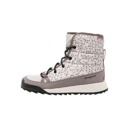 adidas Performance CW CHOLEAH CP Śniegowce tech earth/vapour grey/clear brown