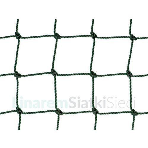 Siatka piłkarska. Polietylenowa siatka do piłki nożnej oko 48mm x 48mm splotka fi 2,5mm.