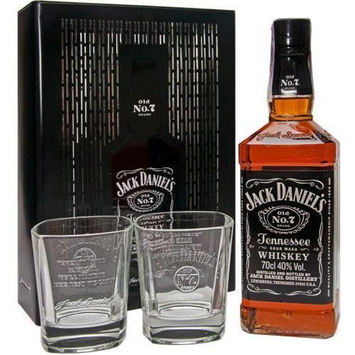 Whiskey Jack Daniel's zestaw prezentowy ze szklankami puszka 0,7l, 14F8-719C1