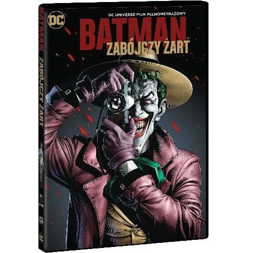 Sam liu Zabójczy żart. batman (dvd) -