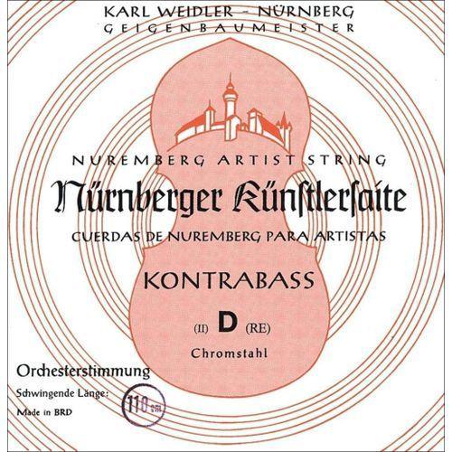 (643101) struny do kontrabasu kunstler strojenie orkiestrowe - g 3/4 marki Nurnberger