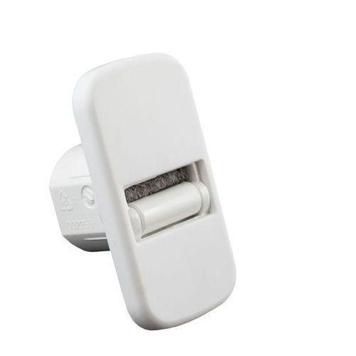 Mini prowadnica taśmy z uszczelnieniem szczotkowym, szer. taśmy 15 mm, biała marki Jarolift