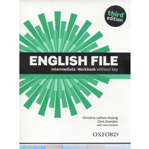 English File. Intermediate Workbook. Third edition withouy key, oprawa miękka