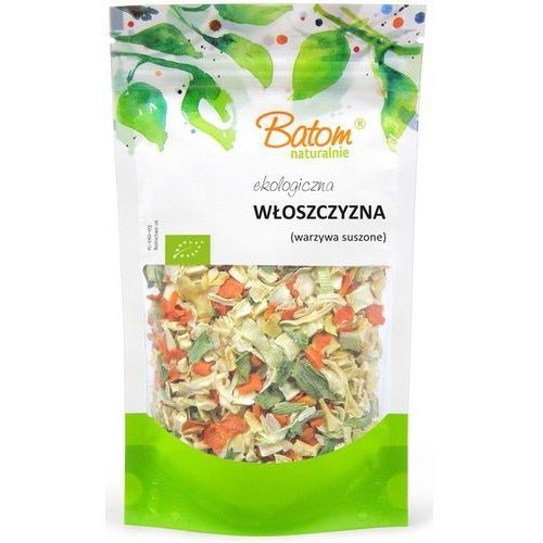 Włoszczyzna (warzywa suszone) bio 150 g- batom marki Batom (dżemy, soki, kompoty, czystek)