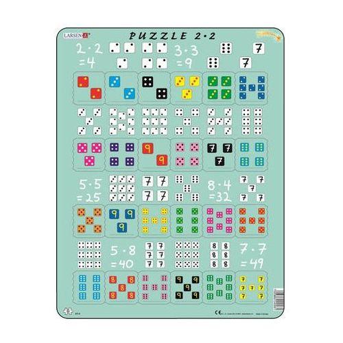 Puzzle maxi - násobení s kostkami/24 dílků marki Neuveden