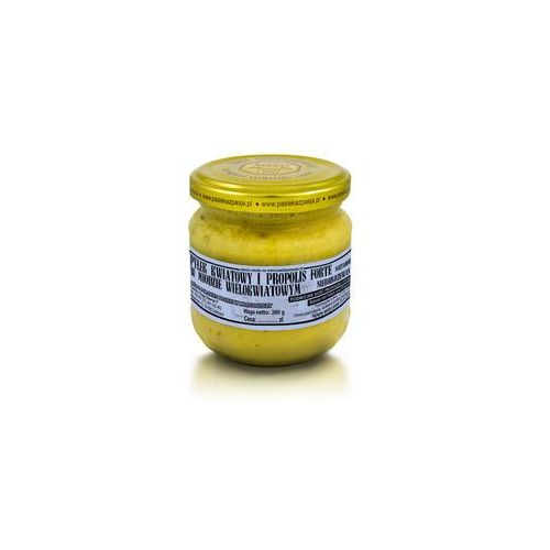 Miód wielokwiatowy z pyłkiem i propolisem forte 260 g