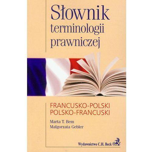 Słownik Terminologii Prawniczej Francusko-Polski Polsko-Francuski, oprawa miękka