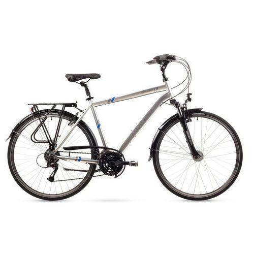 Rower Romet Wagant 3 L srebrny 2016 - L srebrny