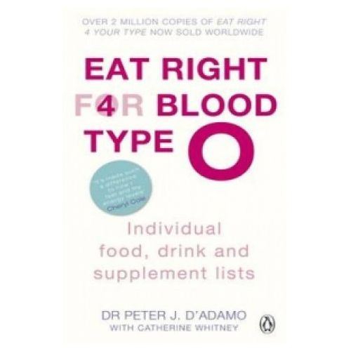 Eat Right for Blood Type O Individual Food, Drink and Supplement Lists, Penguin Books Ltd