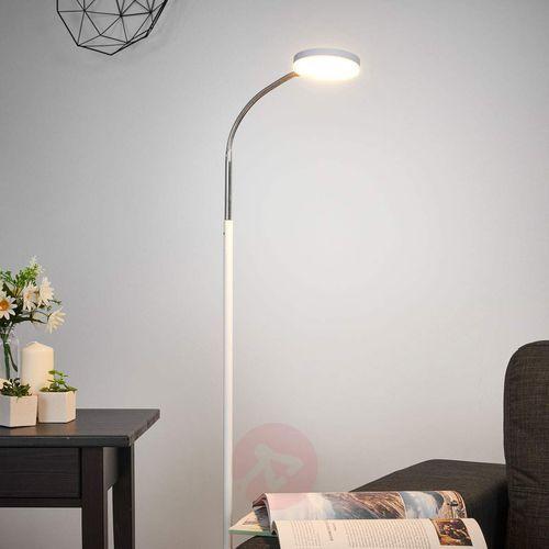 Lampenwelt.com Milow - lampa stojąca led, elastyczna szyjka