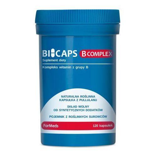 Kapsułki BICAPS B COMPLEX, FORMEDS WITAMINY B 120 KAPSUŁEK