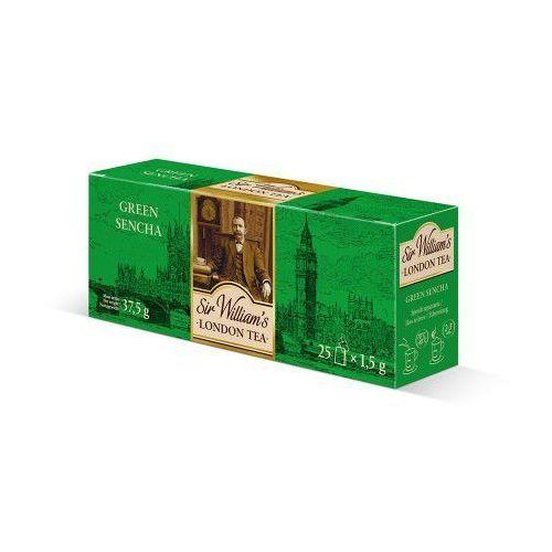 Herbata Sir William's LONDON GREEN SENCHA 25 szt. (5903240323456)