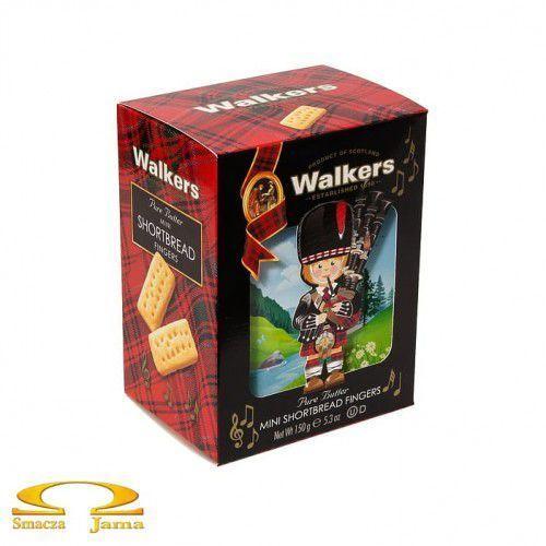 Ciastka Walkers Shortbread Bagpiper 150g, SLOD101