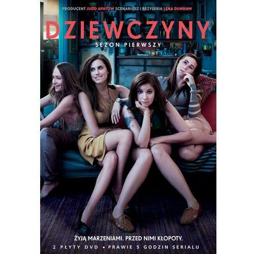 Galapagos films / warner bros. home video Dziewczyny, sezon 1 (2 dvd) (7321909322752)
