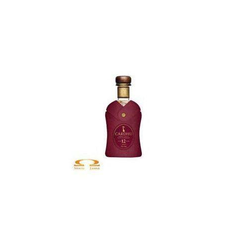 Classic malts of scotland Whisky cardhu 12 yo 0,7l w skórzanym opakowaniu edycja limitowana