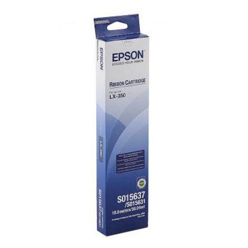 Taśma s015637 czarna do drukarek igłowych (oryginalna) marki Epson