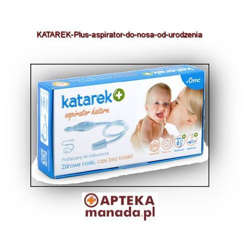 Katarek  plus od urodzenia aspirator do nosa (5999880412032)