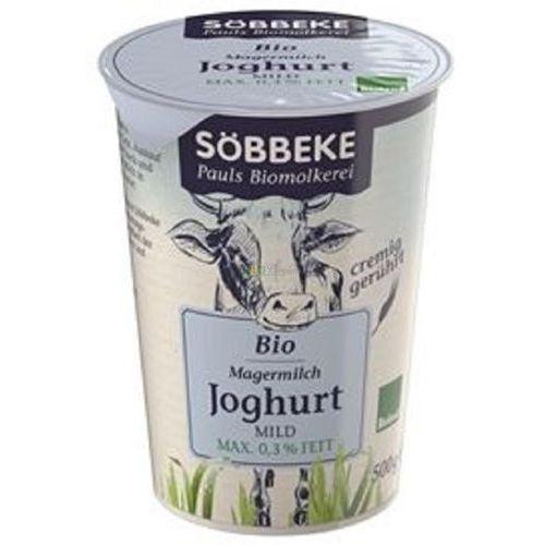 Jogurt naturalny max. 0,3% bio 500 g - marki Sobbeke