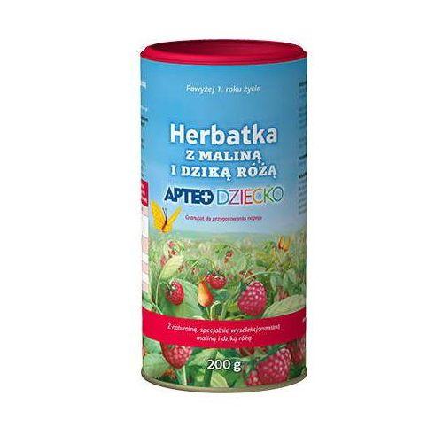 Synoptis pharma Apteo dziecko herbatka z maliną i dziką różą 200g