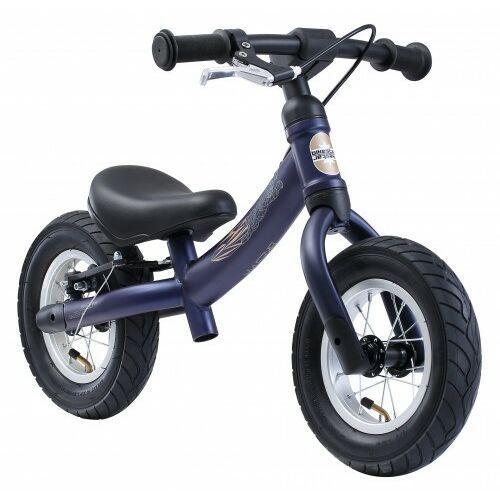 """Bikestar Rowerek biegowy 10"""" air obracana rama 2w1 hamulec granatowy (4260184714827)"""