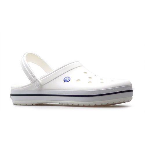 Crocs Klapki crocband 11016-100 białe