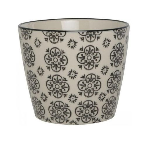 Doniczka Casablanca ze wzorem kwiatowym Ib Laursen 1568-99-2 - oferta [153c2079a711659b]